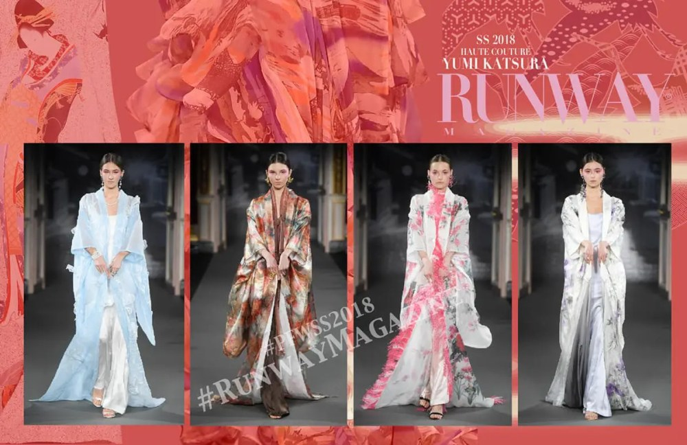 YUMI KATSURA Jean Paul Gaultier Runway Magazine Spring Summer 2018