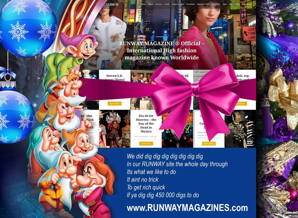 runway-magazine-usa-official-web-site-eleonora-de-gray-reference-france-2017-dwarfs 8 Fascinating Facts About Walt Disney