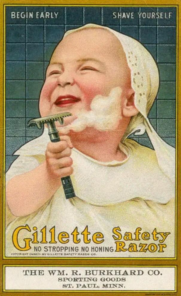 Gilette raiser ridiculous publicity