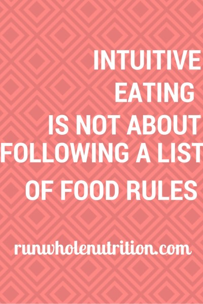 How Diet Culture (+ Dietitians) Mess Up Intuitive Eating