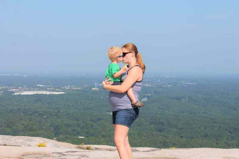 Holly Davis - Taking Photos of Kids on Stone Mountain