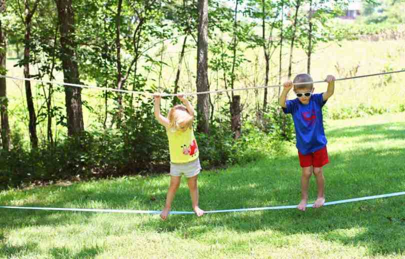 How to teach your kids to slackline