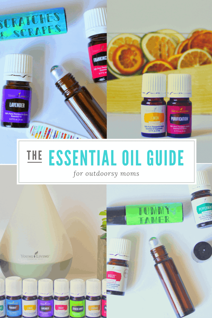 essential oil guide for outdoorsy moms