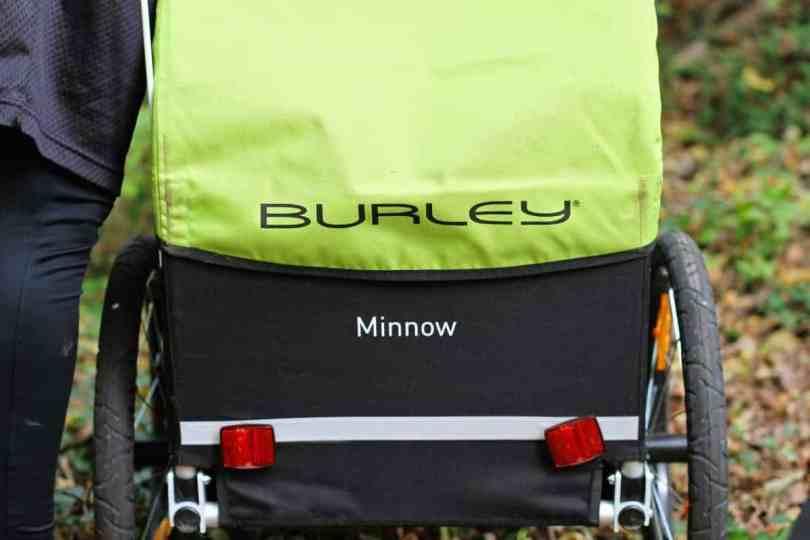 Gear Review: Burley Minnow bike trailer for kids