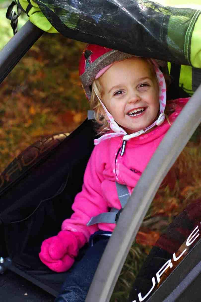 burley minnow bike trailer for kids