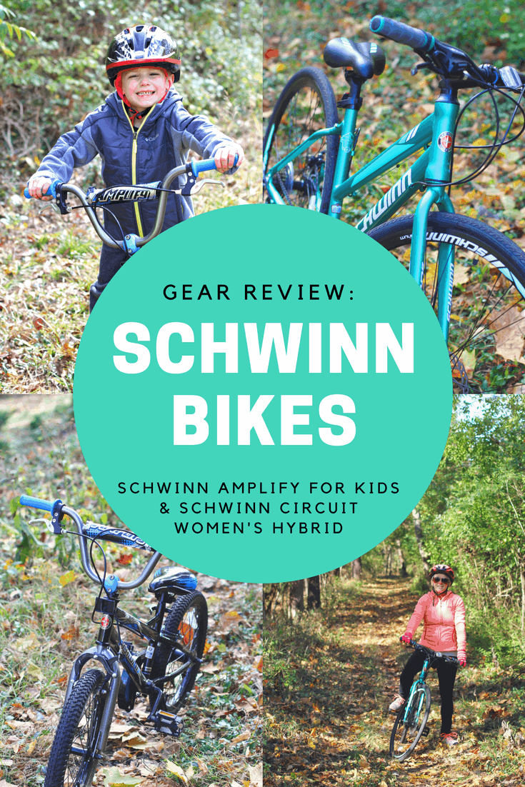 Gear Review: Schwinn Bikes Amplify for Kids and Circuit Women's Hybrid