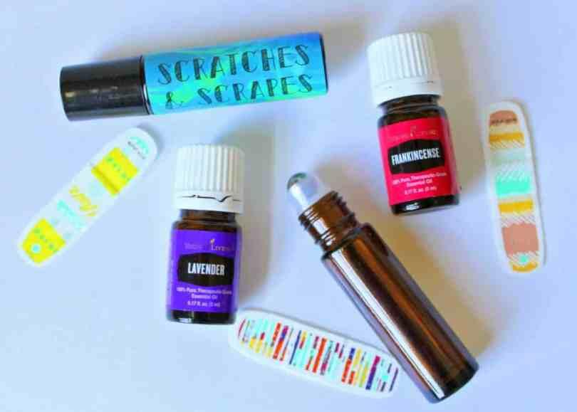 Owie Scratches & Scrapes Essential Oil Recipe roller