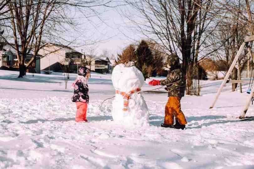 How to Create The Perfect Snow Day with Kids