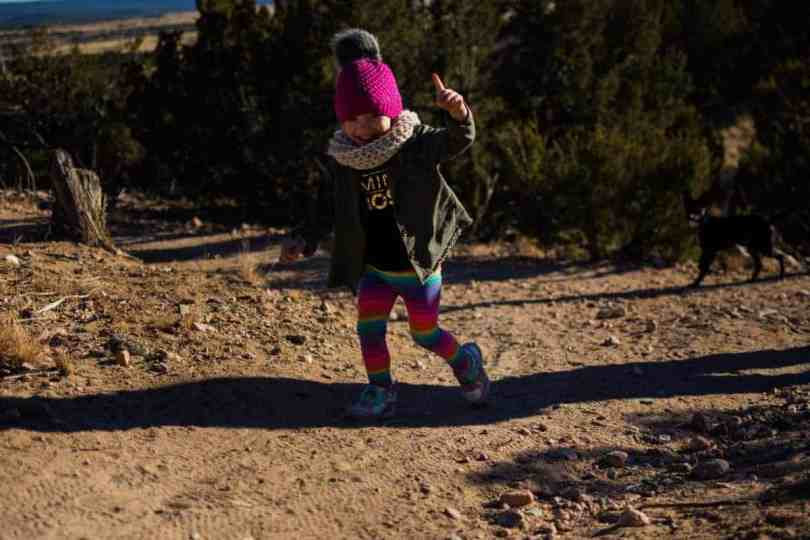 Hiking Galisteo Basin Preserve Santa Fe with Kids