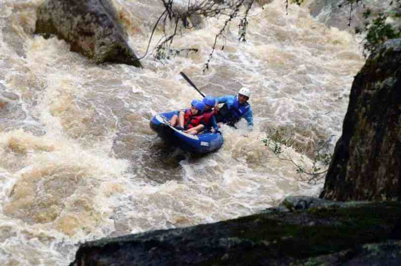 white water rafting with kids in costa rica