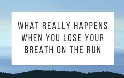 Out of Breath? What really happens when you lose your breath on the run