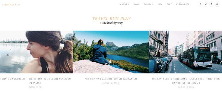 Travelrunplay - Laufblog