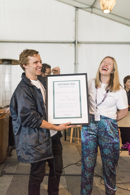 Sustainable Food Awards Flow Festival 2019rSunday 11.08.2019r(C) Andrew Taylor