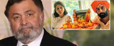 Neetu Kapoor and Ranbir At Rishi Kapoor's Prayer Meet 8