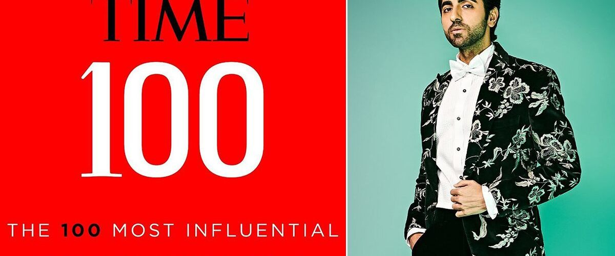 Ayushmann Khurrana only Indian actor on Time's 100 most influential list 1