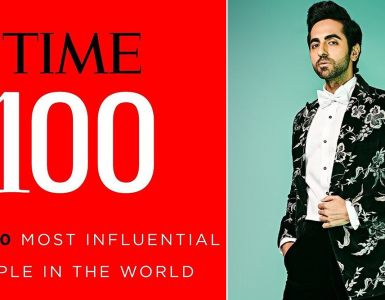 Ayushmann Khurrana only Indian actor on Time's 100 most influential list 2