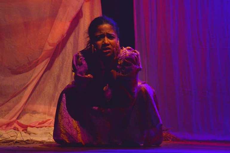 """""""তাৰ পিছতে নাটক কৰিবলৈ ল'লো; এতিয়া ভাবিলে সপোন যেন লাগে।""""- ৰাজশ্ৰী শৰ্মা 4"""
