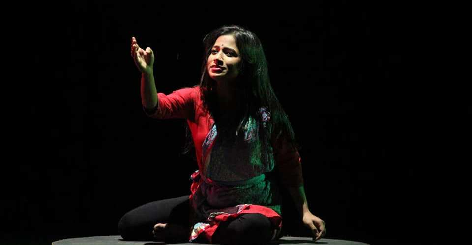 """""""তাৰ পিছতে নাটক কৰিবলৈ ল'লো; এতিয়া ভাবিলে সপোন যেন লাগে।""""- ৰাজশ্ৰী শৰ্মা 1"""