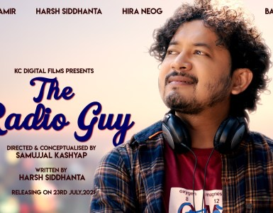 "KC Digital Films ৰ বেনাৰত সাজু হৈছে ""The Radio Guy""- 9"