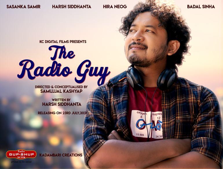 "KC Digital Films ৰ বেনাৰত সাজু হৈছে ""The Radio Guy""- 2"