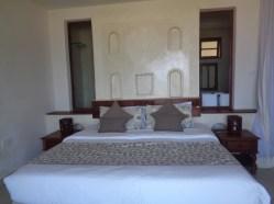 Honeymoon suite featuring the zidaka as headboard Picture copyright Rupi Mangat