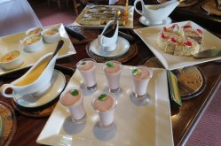 Dessert at lunch at Serena Mountain Lodge