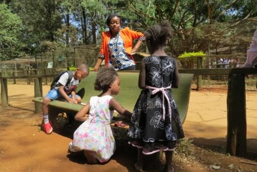 Family Day out at Nairobi Animal Orphanage organized by the Cheetah team - Copyright Maya Mangat