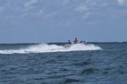 Speedboat with miraa sailing to Somalia -copyright picture Maya Mangat.