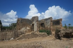 The Palace of Yumbe atthe sultanate of Pate in ruins - Pate island Copyright Maya Mangat