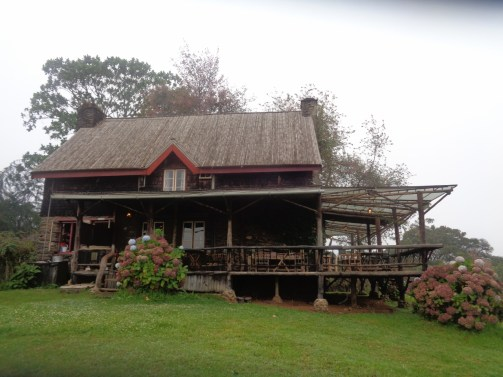 Castle Forest Lodge - the original house Copyright Rupi Mangat