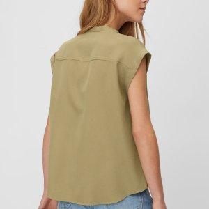 Bluse aus Lyocell-Twill-Qualität von Marc O'Polo bei RUPP Moden