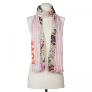 Mustermix-Schal aus Baumwolle und Modal von Codello bei Rupp Moden