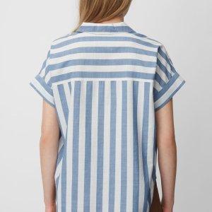 Bluse aus reiner Baumwolle von Marc O'Polo bei RUPP Moden