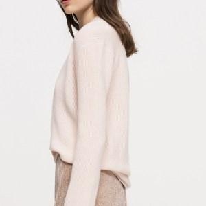V-Neck-Kaschmir-Pullover von Luisa Cerano bei RUPP Moden