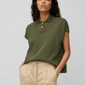 Polo T-Shirt aus Piqué-Jersey von Marc O'Polo bei RUPP Moden