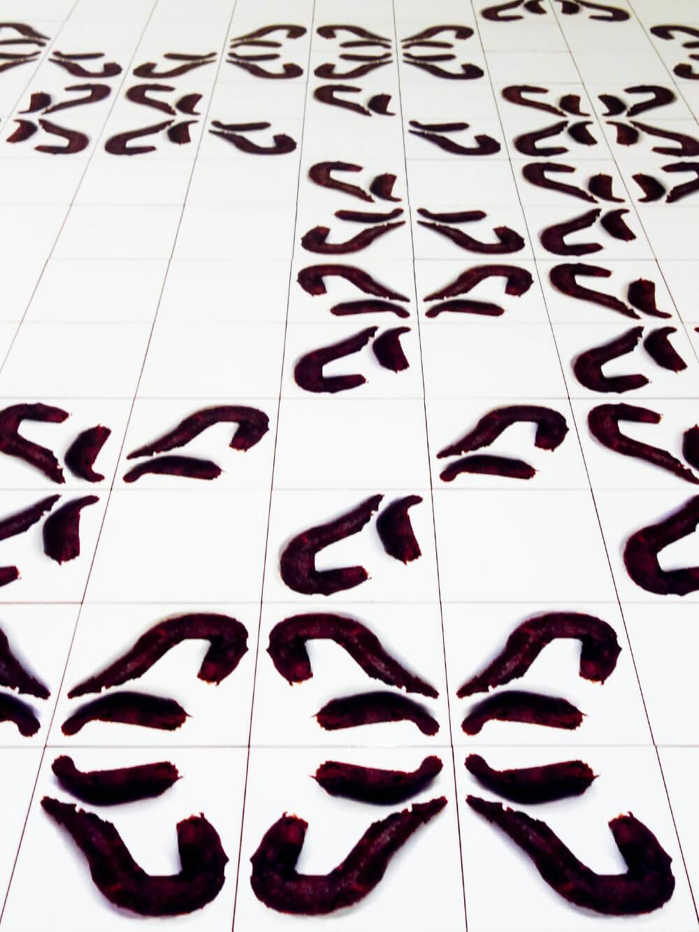 Mosaic 90-196-DEM 1990 Wim Delvoye Mudam Luxemburg