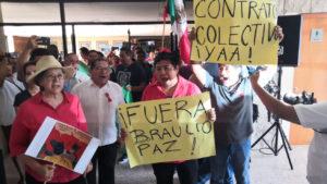 Protestas de sindicalizados