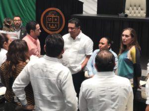Reunión de diputados