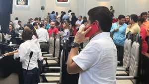Carlos Hernández Blanco, quien recibió una llamada del diputado federal Jesús Pool Moo