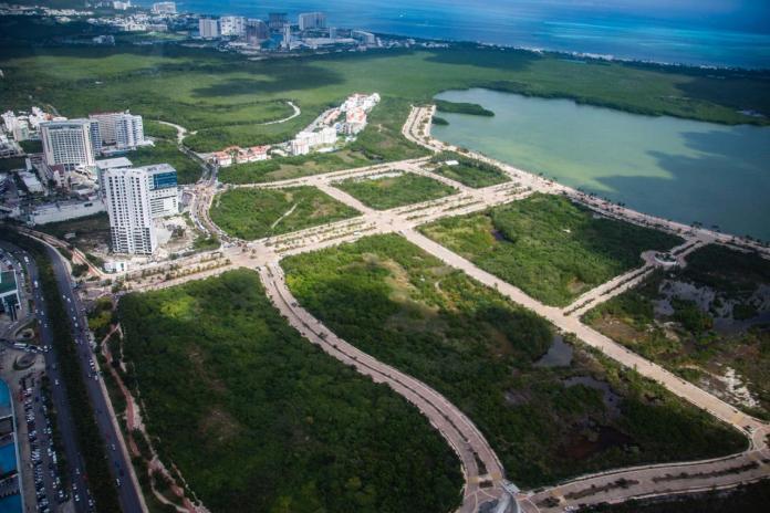 Estado actual de Malecón Tajamar.