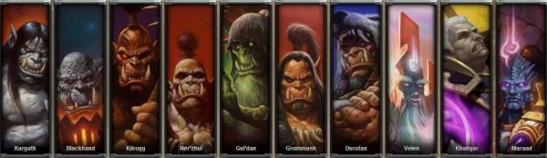 Warlords of Draenor HEROES