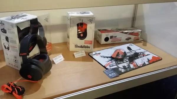 U prodavnici možete kupiti najnoviju brendiranu Razer opremu za igranje.
