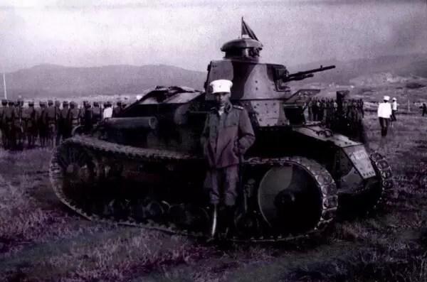 Jedinstvena fotografija M 28 sa kamuflažnom šemom Male Antante (Foto: Zbirka Danka Čanka)
