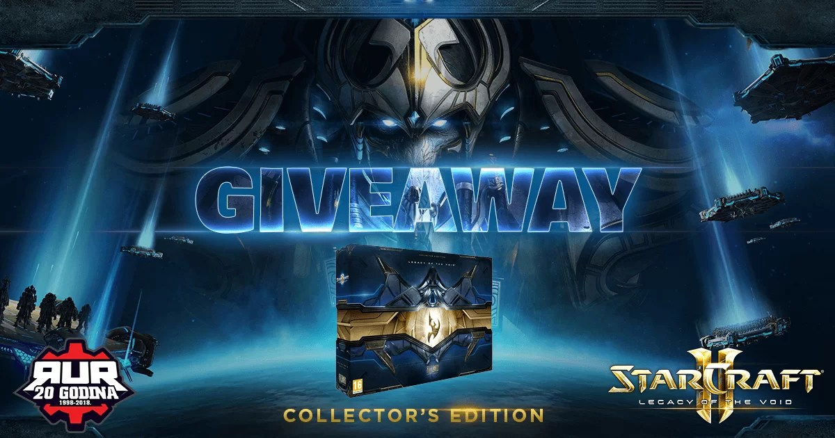 RUR nagrađuje: Starcraft II: Legacy of the Void – Collector's Edition