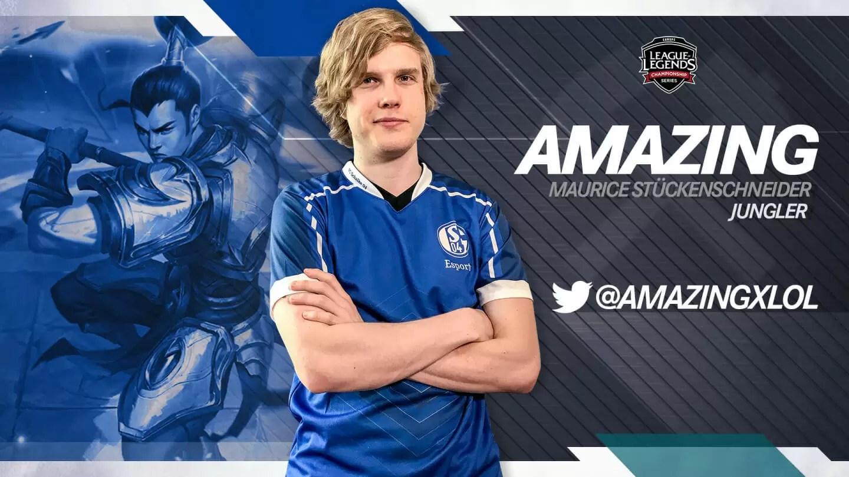 Amazing je novi član ekipe FC Schalke 04 Esports!