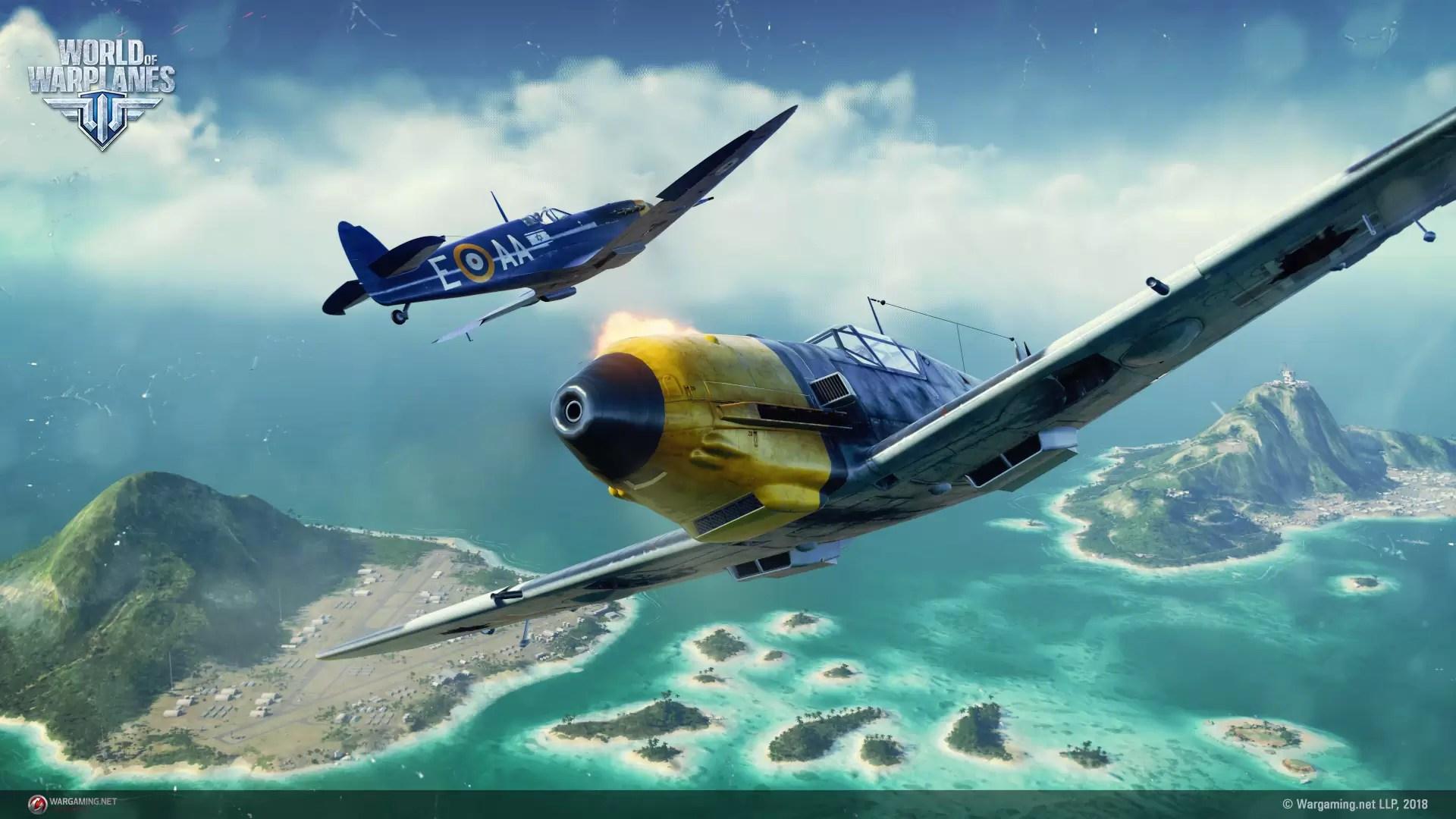 World of Warplanes – Iron Maiden i Aces High