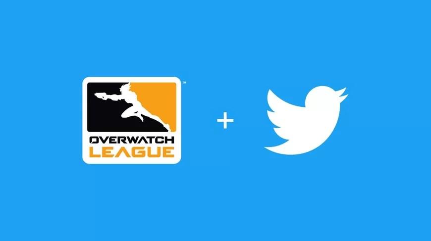 Overwatch Liga u partnerstvu sa twitterom