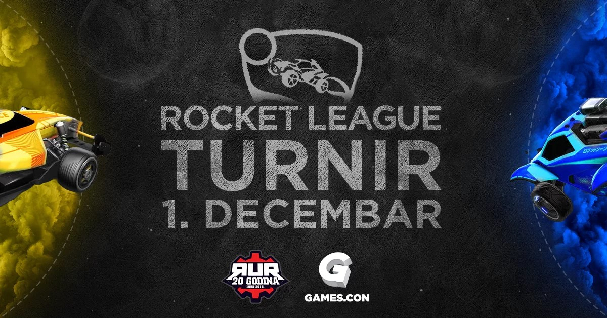 RUR Rocket League turnir, Games.con 2018