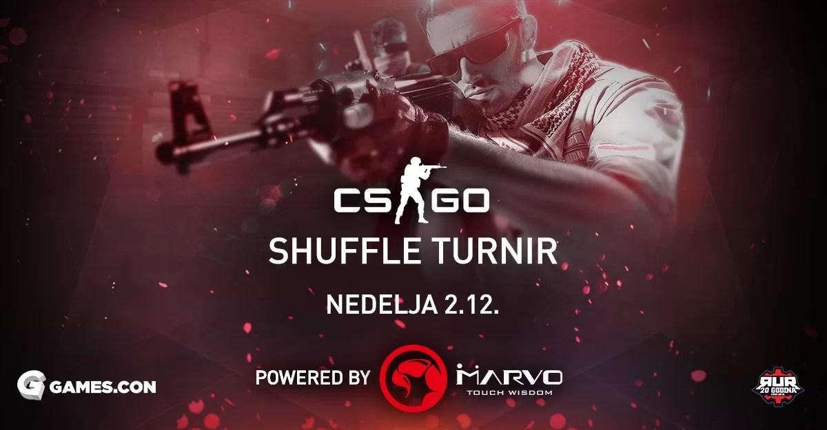 Games.con 2018: Poslednja prilika za prijavu na RUR CS:GO Shuffle turnir!