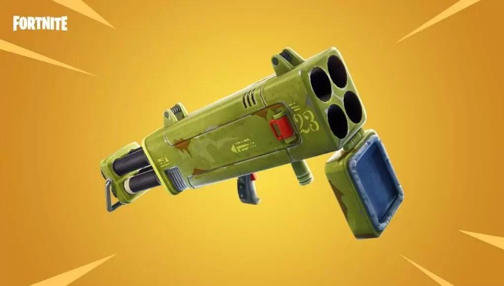 Novo oružje u Fortnite: Battle Royale je Quad Launcher